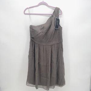 J. Crew Kylie One Shoulder Formal Dress